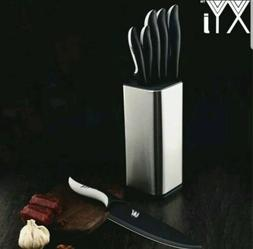 XYJ 7 Piece Kitchen Knives Set Stainless Steel with Cutlery