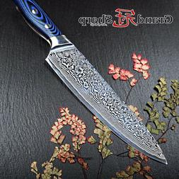 8-Inch Chef Knife 67 Layers Damascus Steel VG10 Kitchen Sush