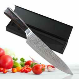 """8"""" inch Chef Knives Damascus Handle Kitchen Knife Profession"""