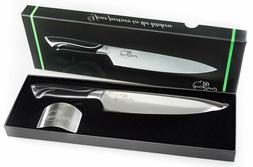 """8"""" Professional Chef Knife and Finger Protector- High Carbon"""
