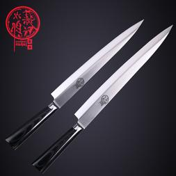 """9"""" Inch Sashimi Knife raw fish fillet Sushi Forged Chef Clea"""