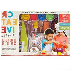 Creative Kitchen Junior Chef Cooking Set 35 Pieces with Chef