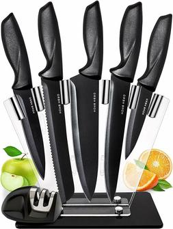 Chef Knife Set Kitchen Knives 7 Piece Stainless Steel Cutler