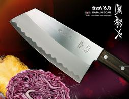 """Kai Chef's All Purpose Cleaver 6.8"""" Vegetable Chopping Knife"""