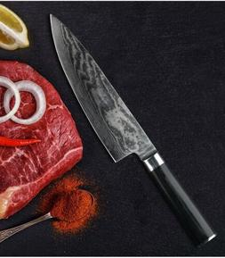 8 inch Japanese Chef Knife VG10 Damascus Steel Kitchen Knive