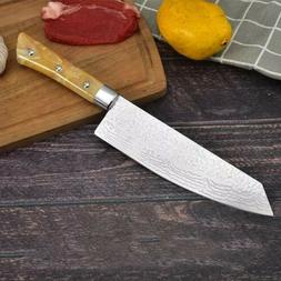 "Damascus Pattern 8"" inch Chef's Knife Stainless Steel Kitche"