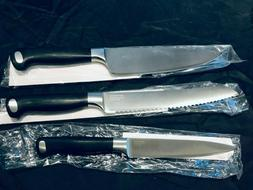 MONTROSE Fully Forged 3 Piece Chef's Knife Set-Bread, Utilit