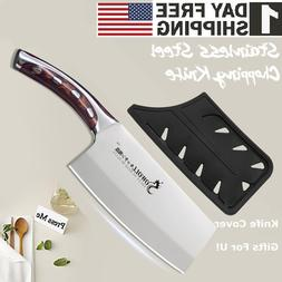 Kitchen Knife StainlessSteel Blade Home 7in Utility Chef Cho