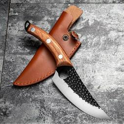 Hunters Serbian Forged Boning Knife Chef Cooking Kitchen But