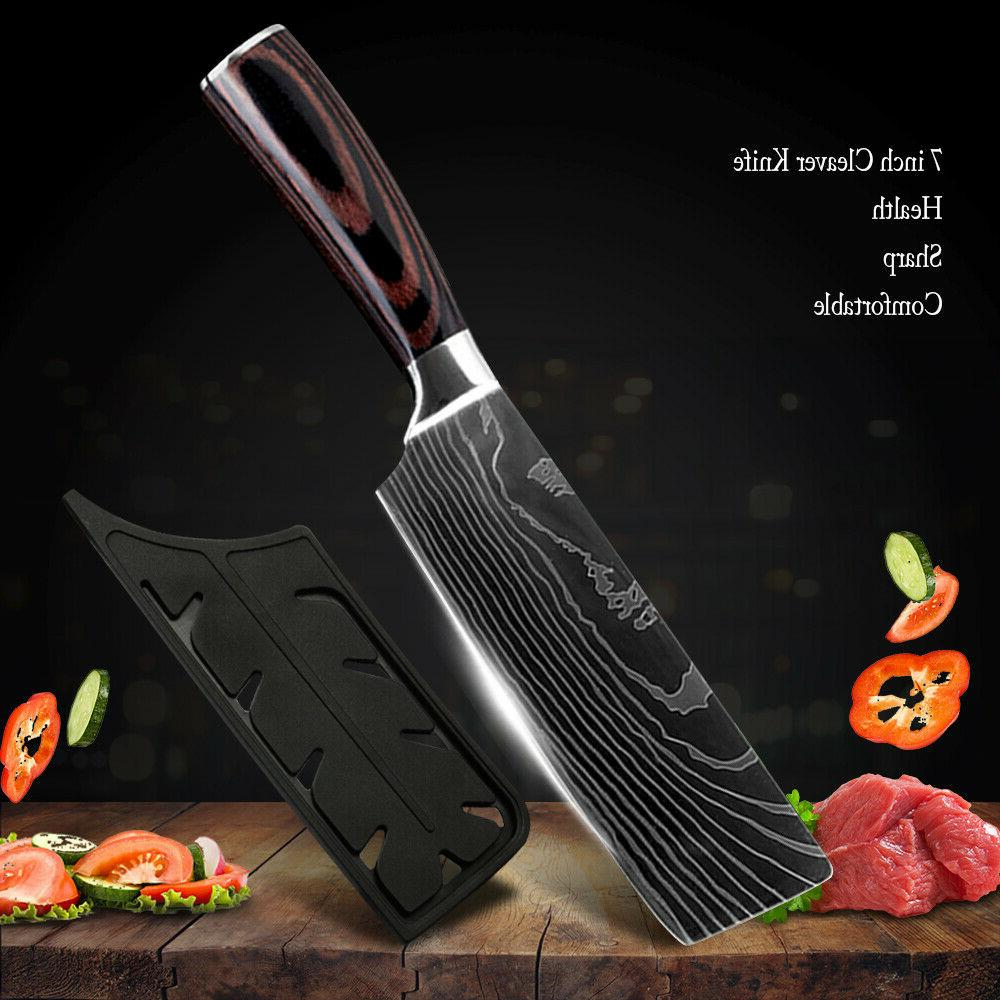 Kitchen Chef Japanese Steel Knives