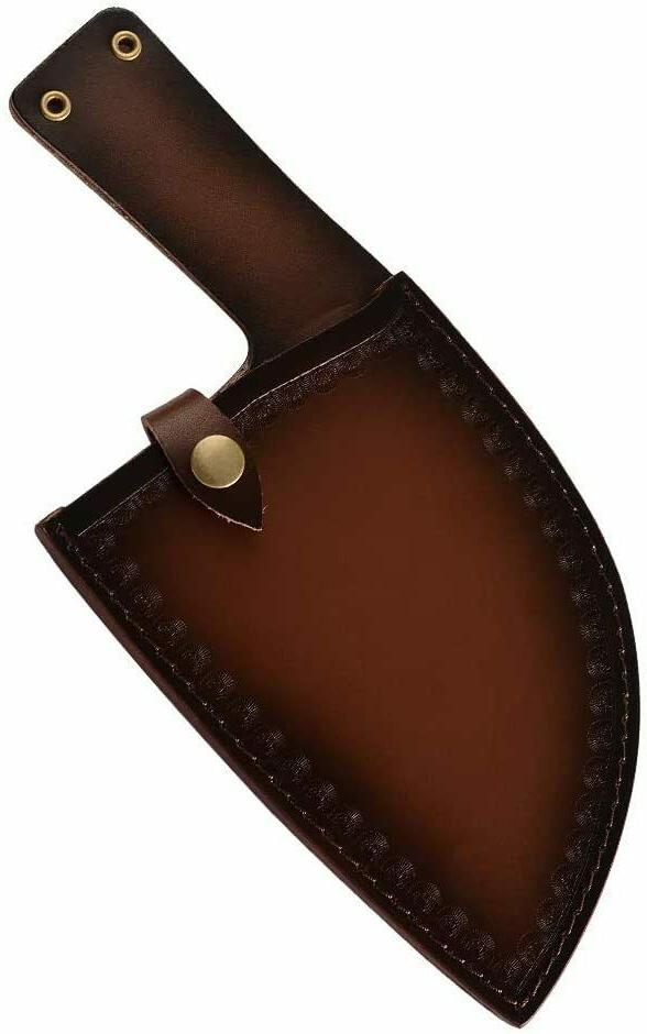 Forged Chop Cleaver Full Large Chef Sheath