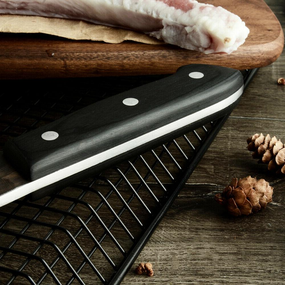 Kitchen Chef Hunters Serbian Steel Knives Forged High-Carbon Clad