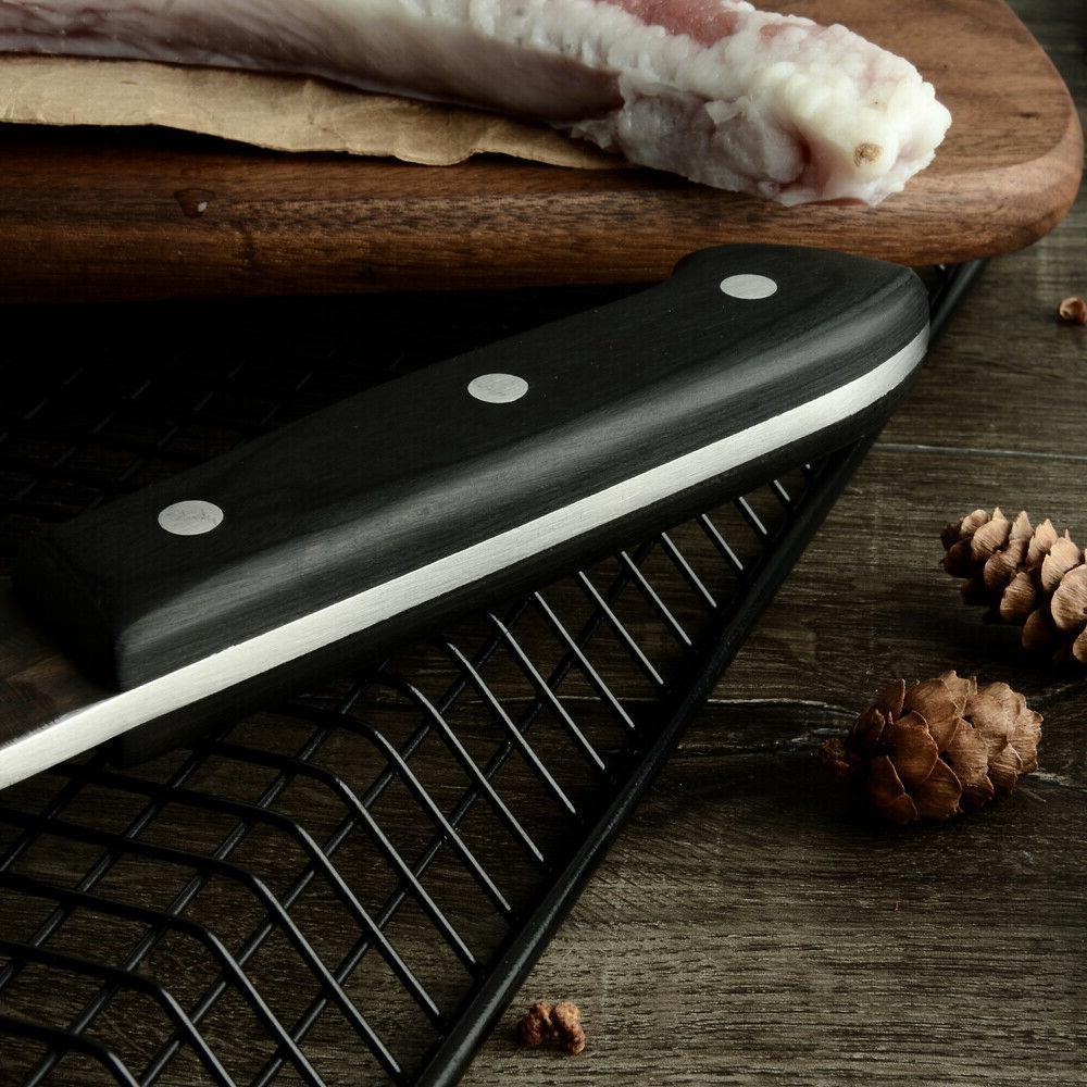Butcher Knife Meat Kitchen Handle with