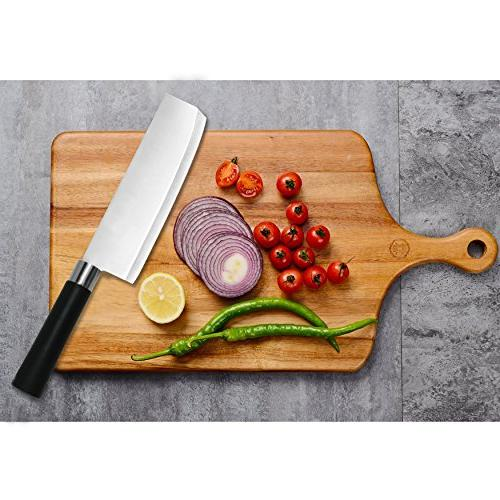 7-Inch Steel Chef's -Professional Used for Home/Kitchen/Restaurant