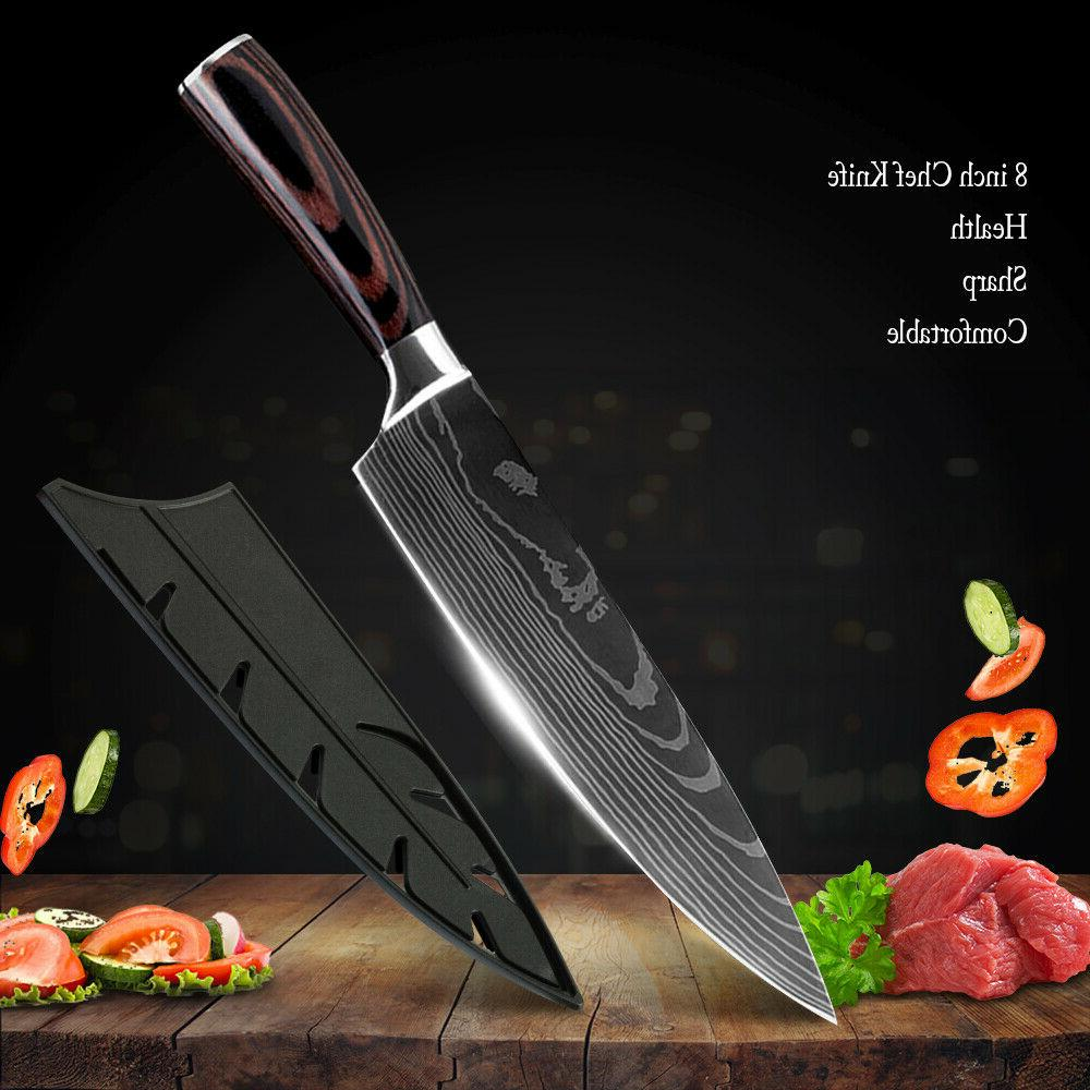 Kitchen Knife Professional Japanese Damascus Stainless Steel Knives