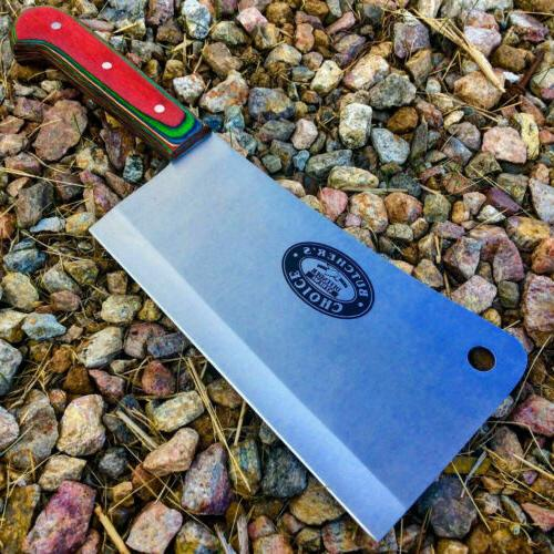 meat cleaver chef butcher knife