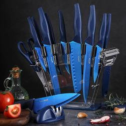 Professional Chef Kitchen Knife Set 16 Pcs Stainless Steel S