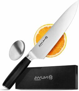 Razor Sharp Full Tang Stainless Steel Kitchen Chef Knife wit