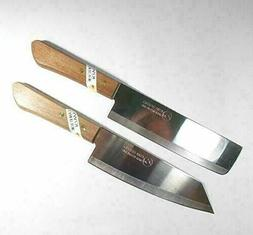 Set of 2 KIWI - Chef's Knife Cook Utility Knives #172, #173